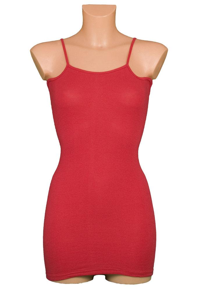 Ihle rotes Korsetthemd mit Spaghettiträger und Flügel