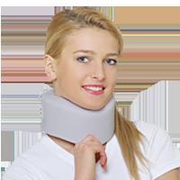 Reh4Mat Halskrause / Cervicalstütze AM-KM (grau)