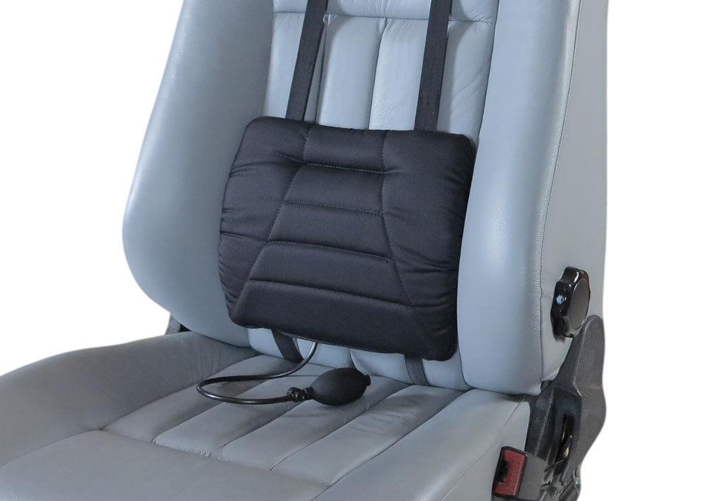 Sitback Sitwell Comfort Air Auto-Rückenkissen, Stoff schwarz