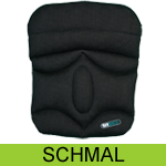 SITBACK Basic Keilkissen Slim, Stoff: black air