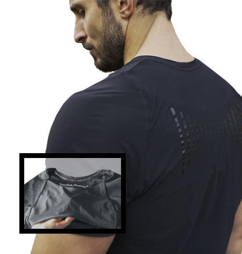Swedish Posture Reminder T-Shirt Herren (schwarz)