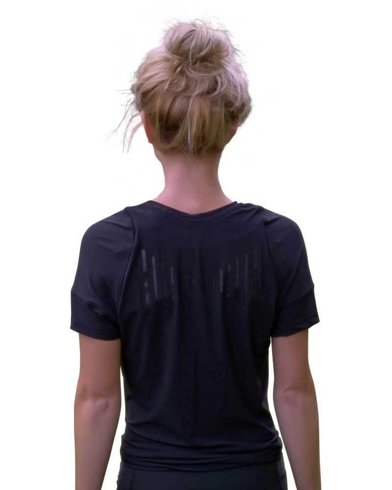 Swedish Posture Reminder T-Shirt Damen (schwarz)